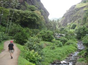Walking on Fatu Hiva